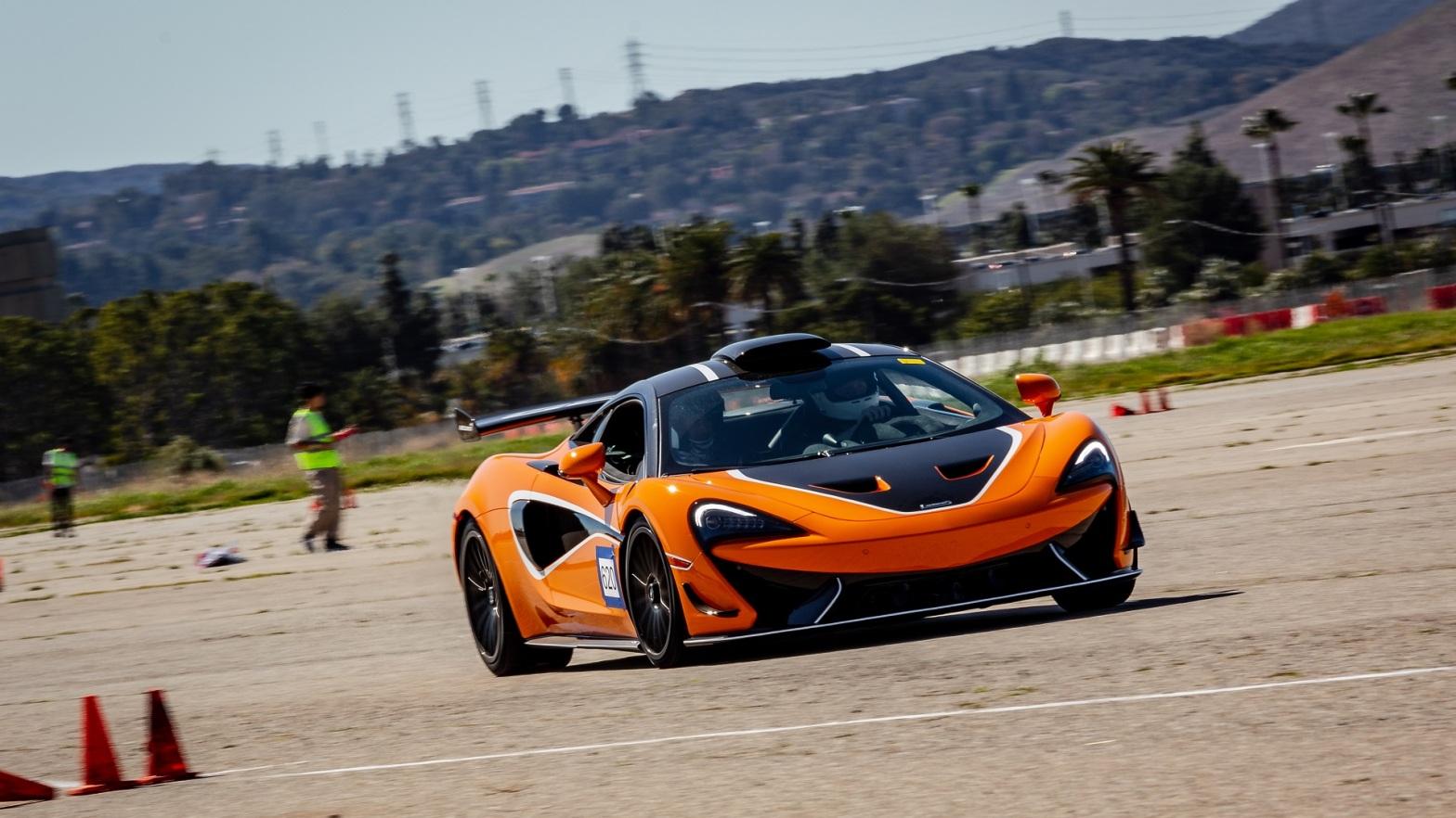 2021 McLaren 620R autocross